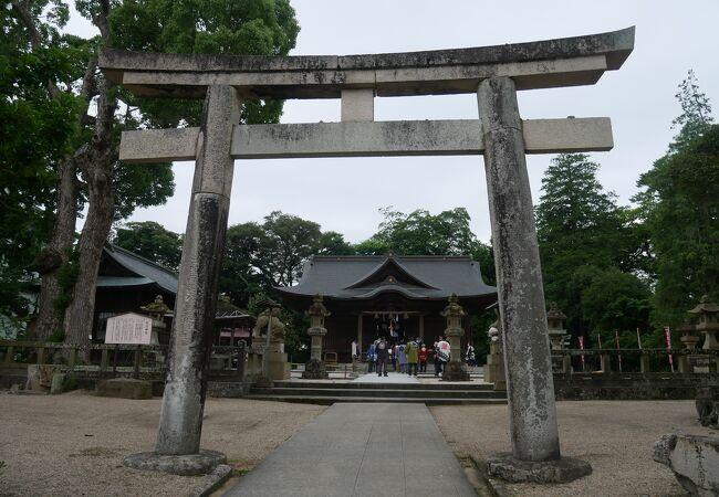 松江城内にある神社