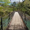 つり橋を渡ってぐるっと1周