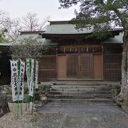 羽豆岬にある神社