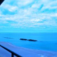 客室からの日本海view