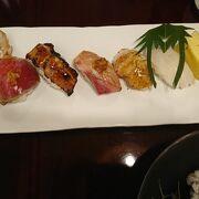 白浜の有名寿司店