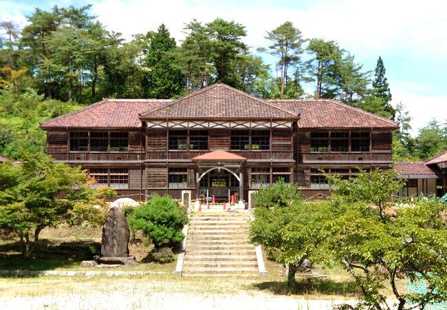 日本最古の木造校舎