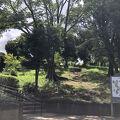 アップダウンのある大きな公園