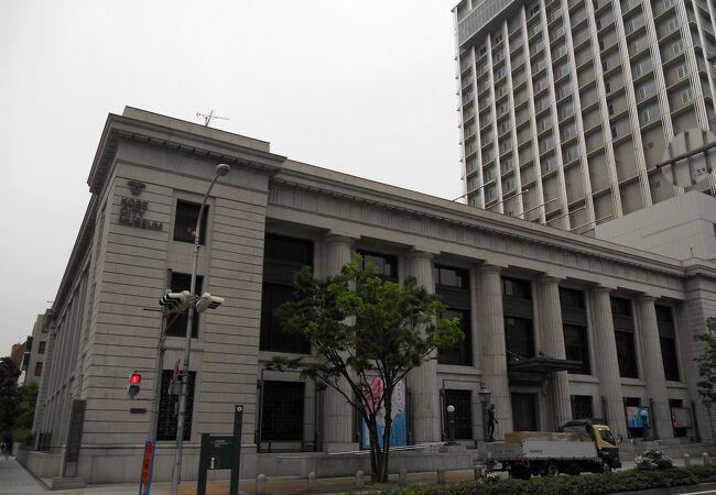 旧「横浜正金銀行神戸支店」の建物が素晴らしい