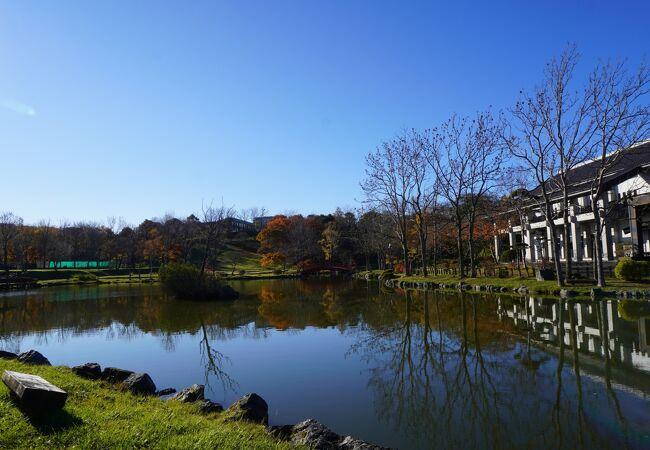 鶴ヶ岱公園