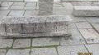 倉紡製品原綿積み降ろし場跡