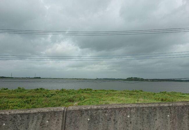 小貝川の支流にあたる沼