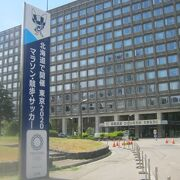 東京五輪2020の札幌開催の名残を当分は楽しめそうです