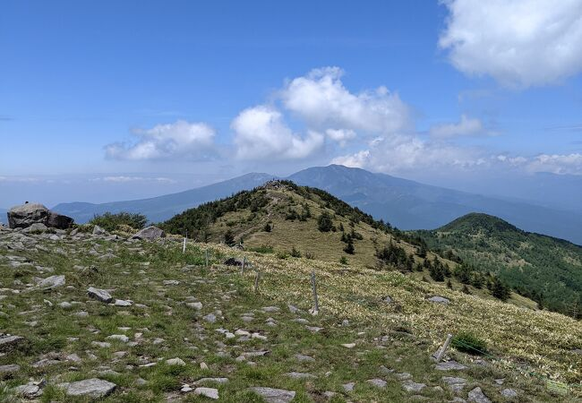湯ノ丸山(長野県東御市)