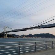 関門海峡の一番狭い所