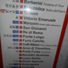 オッタヴィアーノ駅