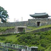 城郭が素晴らしい公山城