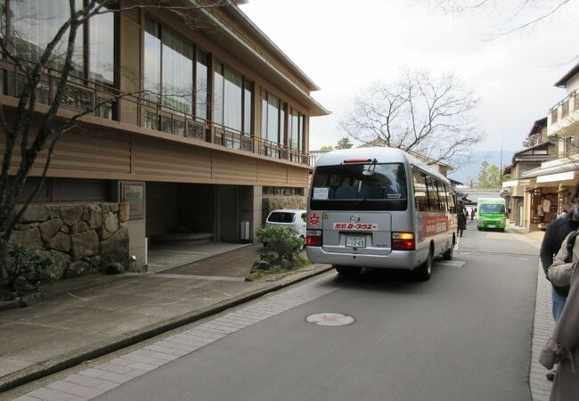 宮島ロープウェイ 無料送迎バス