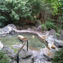 温泉のお湯もよかったです