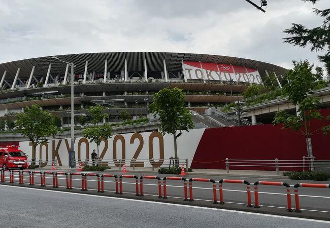 オリンピックが始まります。