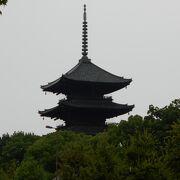日本一の高さを誇る木造塔の五重塔