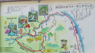 横谷峡四つの滝