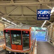 立山駅から美女平駅まで!1.3kmを7分で結びます
