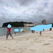 想像より立派なビーチ