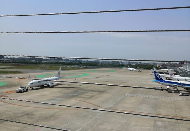 福岡空港 国内線展望デッキ