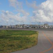 大型機対応の離島の空港