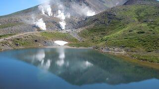 北海道で最高峰の山、旭岳
