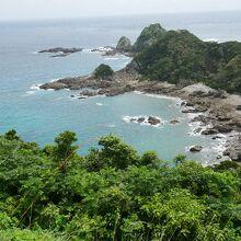 南国風の岬