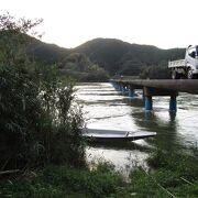 最長の沈下橋
