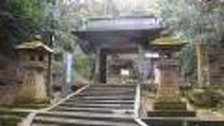 清水寺(島根県安来市)