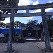 松江城近くの神社