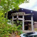 「鶴の湯」と「鶴の湯別館」は1㎞程離れていて、「鶴の湯」に行く途中で間違って立ち寄りました