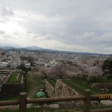 鳥取城跡 久松公園