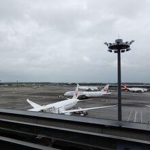 成田空港 第2ターミナル 見学デッキ