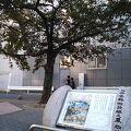 駒込駅そば、染井吉野の記念碑や桜の木が見どころの公園