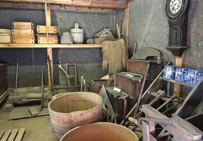 江戸時代の建物を利用した資料館です