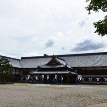 佐賀城跡地の中にある歴史館