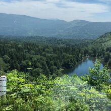 八幡平山頂への道!