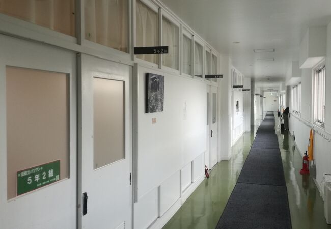 学校に宿泊できる道の駅