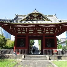 台徳院霊廟惣門
