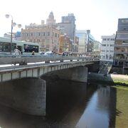 有名な四条大橋