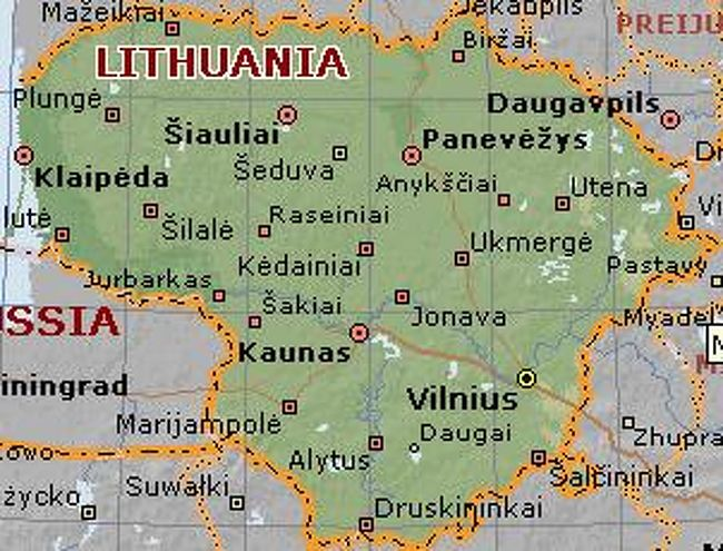 バルト三国ツアー <リトアニア...