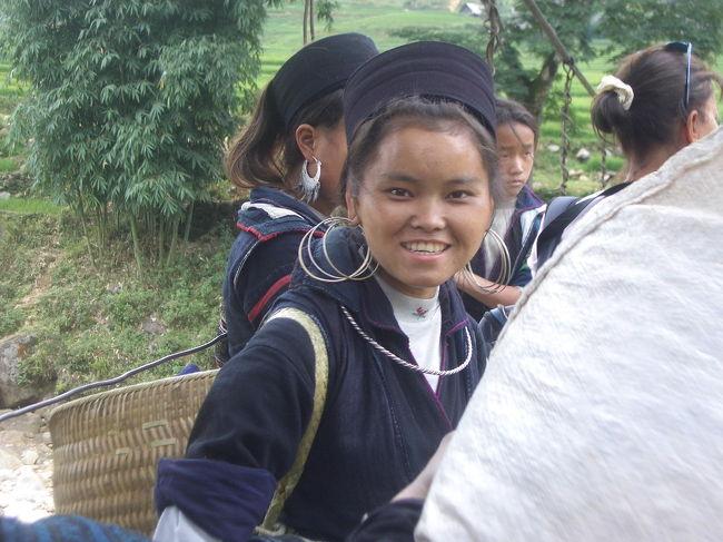 ベトナムに行ってきました。ハノイ>サパ>ハノイという旅程です。サパ周辺の少数民族の村へのトレッキング。カットカット村にラオチャイ村、タヴァン村の人々です。