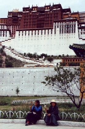 ★ちょっと昔の中国とネパール(1)チベット自治区、ラサ周辺