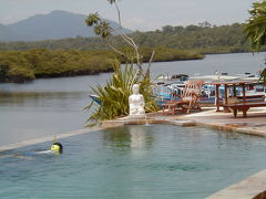 COマイレージ利用 ムンジャンガンで温泉とダイビング