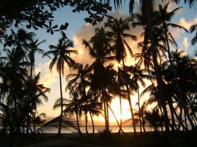 ドミニカ共和国に数あるビーチの中でここは秘境。プエルトリコ行きの密入国船がでるようなうっそうとしたジャングルの中にあるビーチです。そこで本当にのんびりゆったりの休日を過ごしてきました。