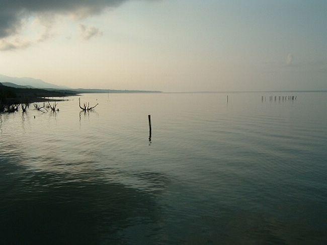 カリブエリア最大の塩湖であるLAGO ENRIQUILLO ここにはワニやフラミンゴ、イグワナがいます。彼らに会いに行って来ました。