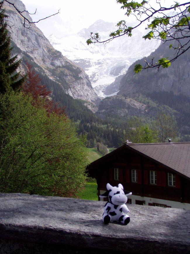 2003年に当時1歳10ヶ月の娘を連れてスイスの友人を訪ね、その後ルッチェルン、グリンデルワルド、ジュネーブと旅してきました