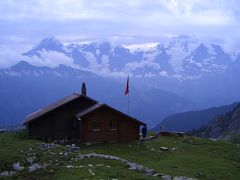 スイスドライブ&ハイキング【6】(ロープホルンヒュッテハイキング編) 2004年7月