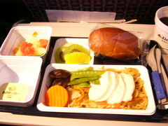 機内食に見る☆アメリカ旅行