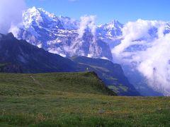 スイスドライブ&ハイキング【7】(メンリッヘン→チューリヒ空港移動編) 2004年7月